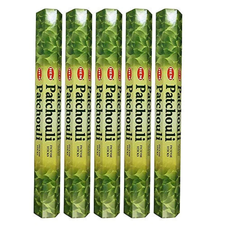 矛盾するバターおとうさんHemパチョリ100 Incense Sticks (5 x 20スティックパック)