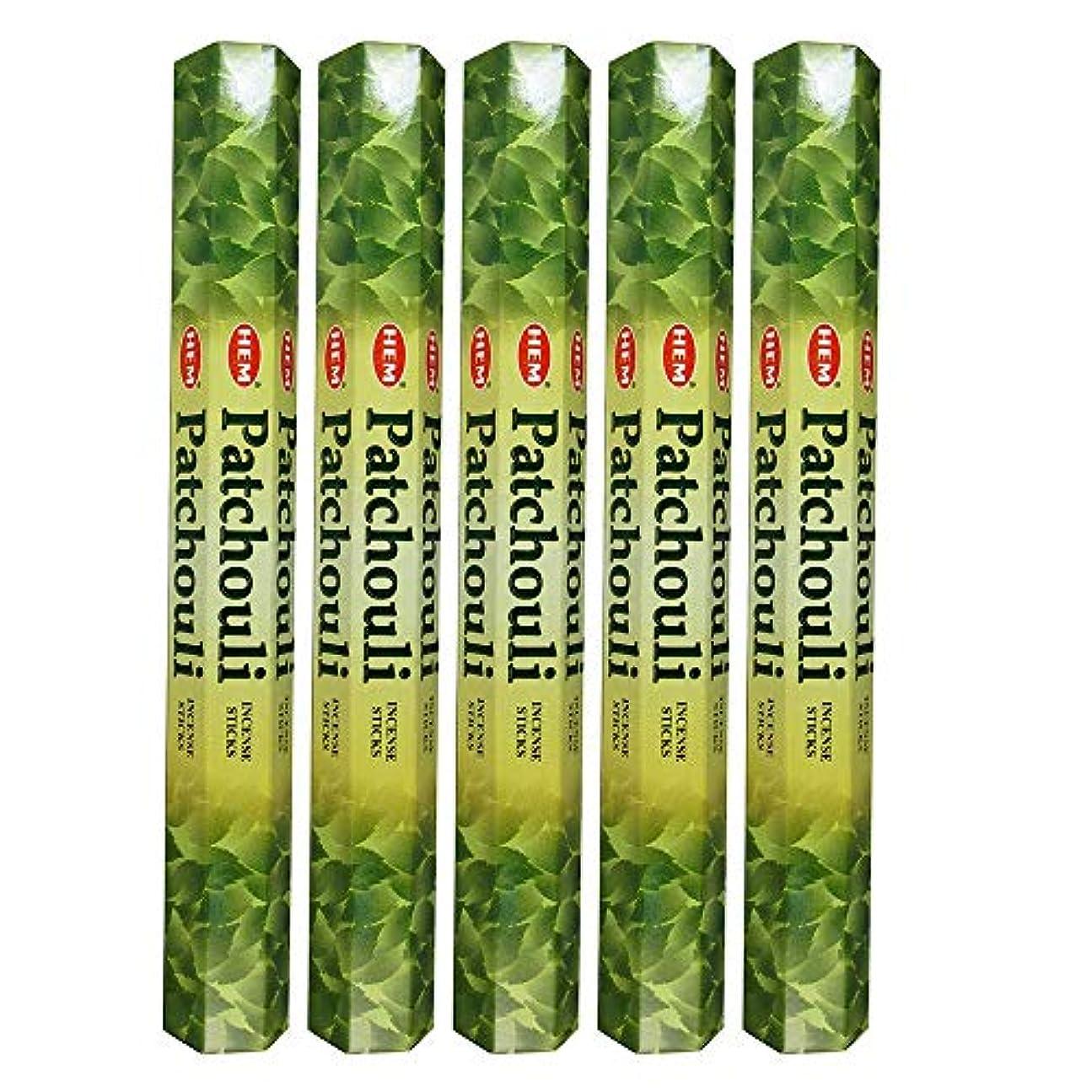 達成可能隠類似性Hemパチョリ100 Incense Sticks (5 x 20スティックパック)