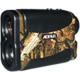 AOFAR 700 Yards 6X 25mm Laser Rangefinder for Hunting Golf, Measurement Range Finder with Speed Scan and Fog