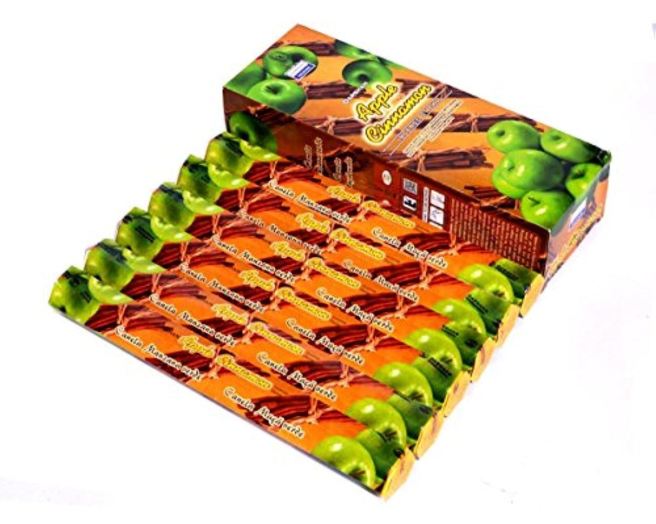 偽善者副遺伝的Apple Cinnamon – 120 Sticksボックス – Darshan Incense