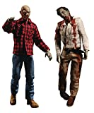 Mezco Toys One:12 Collective: Dawn of The Dead Fly Boy & Plaid ゾンビ アクションフィギュア 2パック