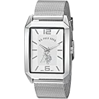 U.S. Polo Assn. Classic Men's USC80358 Analog Display Quartz Silver-Tone Watch