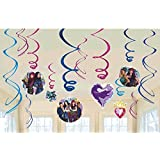 Descendants 2 Hanging Swirl Decorations (12pc) [並行輸入品]
