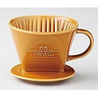 エールネット(Ale-net) コーヒーフィルター 白 13.5×10.8×8.8cm ドマーニ ドリッパー