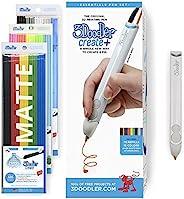 3Doodler Create+ 3D Printing Pen for Teens, Adults & Creators! - Quartz Grey (2019 Model) - with FREE Refi