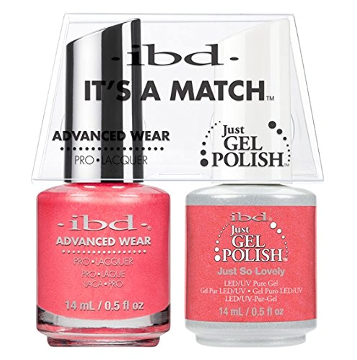 ibd - It's A Match -Duo Pack- Just So Lovely - 14 mL / 0.5 oz Each