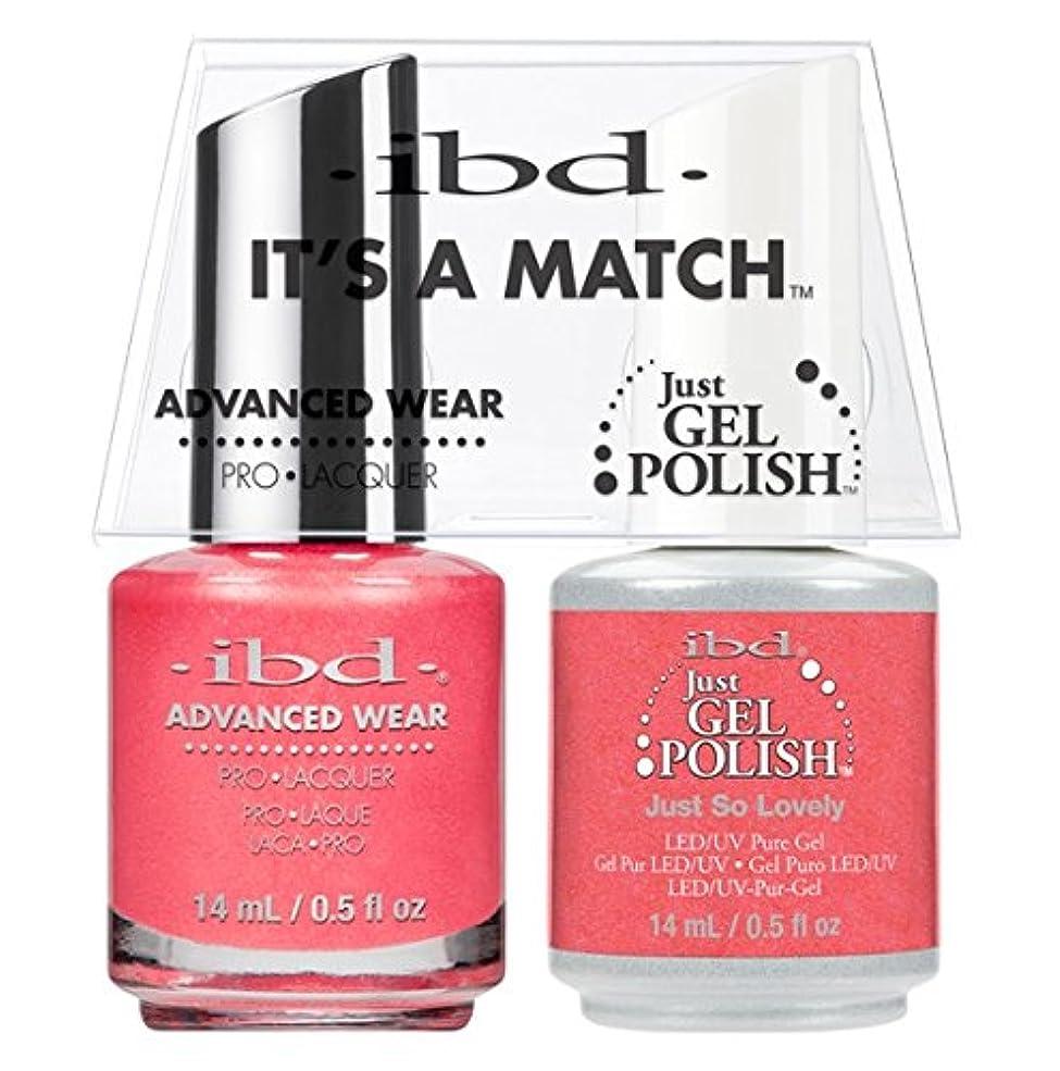 投票会計士セクションibd - It's A Match -Duo Pack- Just So Lovely - 14 mL / 0.5 oz Each