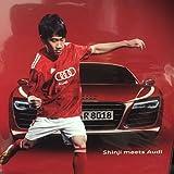 アウディ Audi R8 & 香川真司 クリアファイル