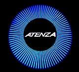 MAZDA マツダ アテンザ ATENZA 型式 GJ プロジェクター ウエルカムライト 2個 ブルー