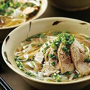 人気ベトナミーズレストラン「ニャーヴェトナム」フォー6人前 具材・スープ・パクチー付 [蒸し鶏/ピリ辛豚挽き肉 各3人前]