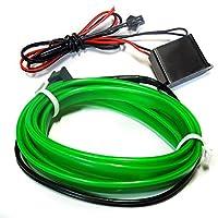 MAX ELワイヤー ネオンワイヤー テープライト リブ付き 隙間に挟める グリーン 1m