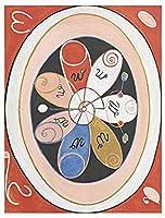ペイントヒルマ・アフ・クリント大壁アートプリントポスター画像lf2652