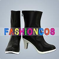★サイズ選択可★男性25CM UA0164 VOCALOID ボーカロイド 初音ミク Miku コスプレ靴 ブーツ