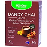 Kintra Foods Roasted Dandelion Blend Chai Tea 32 Teabags