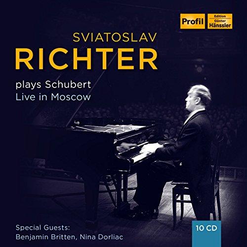 没後20年記念BOX ~ リヒテル・プレイズ・シューベルト (Sviatoslav Richter plays Schubert ~ Live in Moscow) [10CD Box] [輸入盤] [日本語帯・解説付]