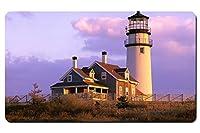 """ケープコッド灯台トゥルーロマサチューセッツ州–Largeゲームマウスパッド–テーブルトップマット–23.6"""" x13.8"""" ( 60cmx35cm )"""