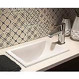 グローエ 洗面器・バスタブ・トイレ 【JPK 10400】 グローエジャパンコレクション 洗面器 スクエア型オーバーカウンター手洗器