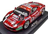 BBR 1/18 フェラーリ 458 CHALLEGE MONZA 2011 Team Depoi Coca Cola 完成品