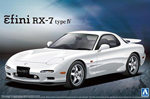 青島文化教材社 1/24 ザ・ベストカーGTシリーズ No.90 マツダ FD3S RX-7 IV型 プラモデル