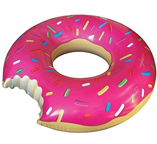 アメリカ からやってきた 大きな 浮き輪 直径 120cm 大人用 ドーナツ...