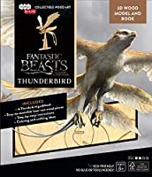 IncrediBuilds Fantastic Beasts Where to Find Them Thunderbird Book 3D Wood Model Kit - Build, Paint Collect Your Own Wooden Model - Great Kids Adults, 8+ - 18cm