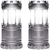 btb LEDランタン電池式2個セット キャンプ/災害非常灯