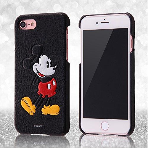 レイ・アウト iPhone7ケース ディズニー オープンレザーケース ポップアップ/ミッキーマウス  RT-DP12C/MK