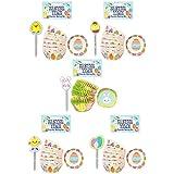 Rimi Hanger 48 PCS Lovely Easter Cake Cupcake Wraps Toppers Baking Case Decoration Set One Size