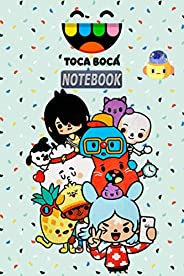 Toca Boca NOTEBOOK: Notebook, Daily Planner for kids, a Great Gift For All Toca Boca Fans.(120 Pages / 6,9&qu