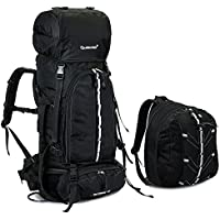 SKYSPER- Large 65 Litre Backpack Hiking Travel Camping Rucksack Daypack Holiday Luggage Bag