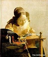 フェルメール「レースを編む女」 原画同寸 (6号)(24cmx21cm) vermeer-03