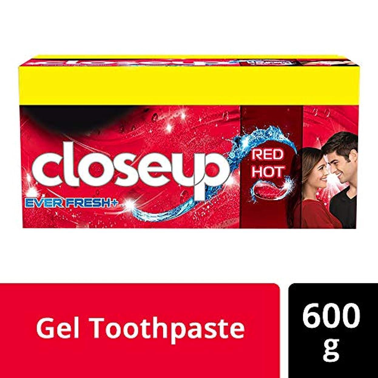 官僚満足させるオペレーターCloseup Ever Fresh Red Hot Gel Toothpaste - 150 g (Buy 3 get 1)