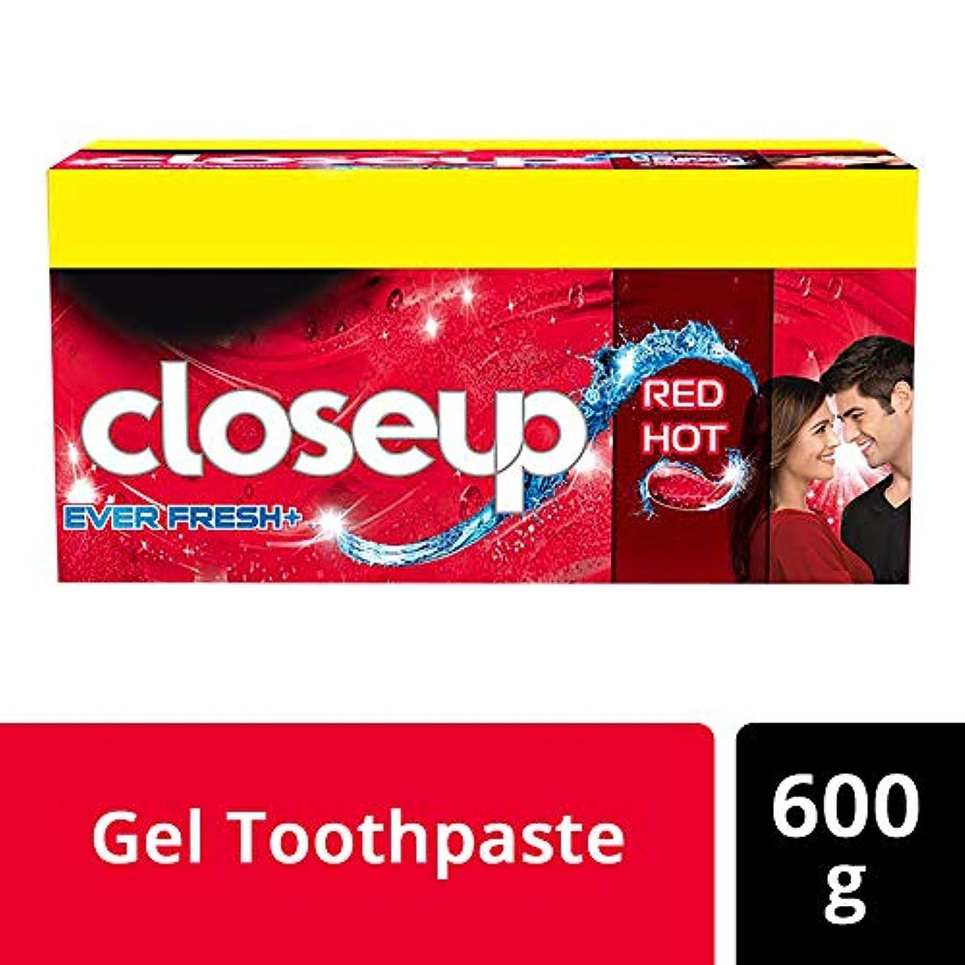 平日ブル仕様Closeup Ever Fresh Red Hot Gel Toothpaste - 150 g (Buy 3 get 1)