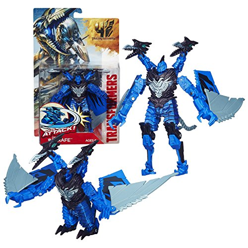 "Hasbro Year 2013 Transformers Movie Series 4 ""Age of Extinction"" Power Attacker 5-1/2 Inch Tall Robot Action Figure -"