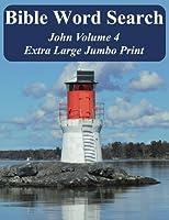 Bible Word Search John: King James Version Extra Large Jumbo Print (Bible Memory Lighthouse Series)