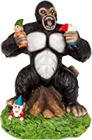 GreenLighting Solar Powered Gorilla Lawn Gnome - Light Up Garden Statue [並行輸入品]