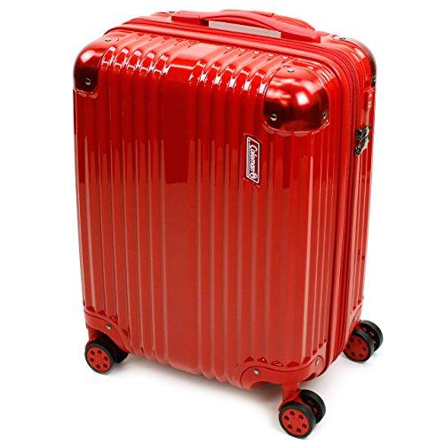 Coleman(コールマン) スーツケース キャリーケース ジッパーキャリー 38+8L 14-54-レッド