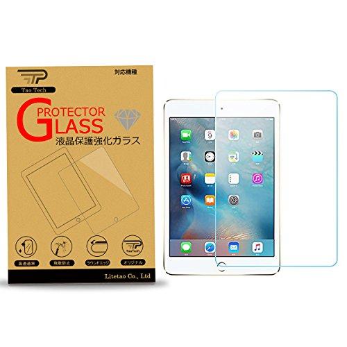 TaoTech iPad iPad mini3 mini2 mini Retina 専用 液晶保護 強化ガラスフィルム 硬度9H 超薄0.26mm 2.5D ラウンドエッジ加工 (iPad mini1/2/3, ガラスフィルム)