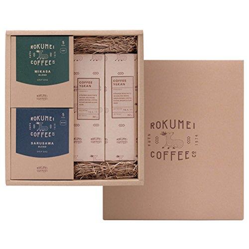 ロクメイコーヒー コーヒーと和スイーツギフト ドリップパック & コーヒー羊かん