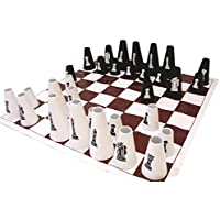 American Educational Chess Set with Cone Checker [並行輸入品]