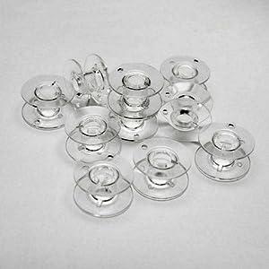 家庭用ミシン用 ボビン(11.5mm) 10個入 ブラザー、ジャノメ、JUKI、TOYOTA、シンガー共通