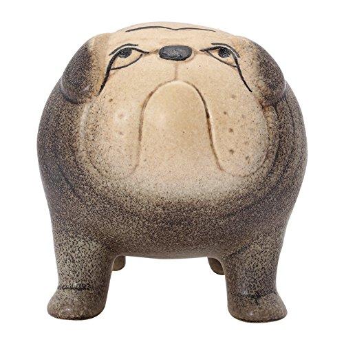 [해외]LisaLarson 리사 라손 (Lisa Larson 리사 라슨) 켄넬 Kennel1140702 불독 Bulldog 그레이 인형 오브제 [병행 수입품]/Lisa Larson Lissa Larson (Lisa Larson) Kennel Kennel 1140702 Bulldog Bulldog Gray Figurine · Object [Parallel import goo...