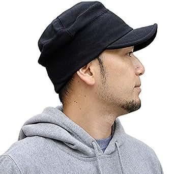 Nakota(ナコタ) スウェット ワークキャップ 【Mサイズ ブラック】 帽子 男女兼用