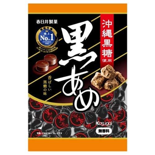 春日井製菓 黒あめ 150g×12袋