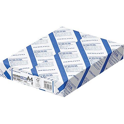 コクヨ PPC用紙 共用紙 FSC認証 64G A4 500枚 KB-39Nをアマゾンで購入