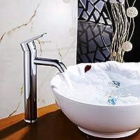 バスルームのシンクの蛇口 洗面器用蛇口浴室のシンクの蛇口シンクシングルホール洗面台の蛇口と冷たい水 (Color : C)