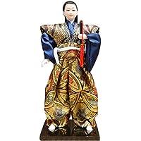 和風の伝統的な戦士忍者人形/ギフト/ジュエリー-A1
