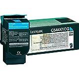 レックスマークレーザープリンタ リターンプログラムトナーカートリッジ・シアン(Extra大容量/4000枚) C544X1CG