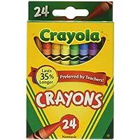 Crayolaクレヨン24 Count box- ( 6パック)カラー: 6パック、モデル:52 – 3024、Office Shop
