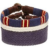 [エイソス]asos Bracelet Pack In Blue and Red ブレスレットパック メンズ アクセサリー blue 613250 one size [並行輸入品]